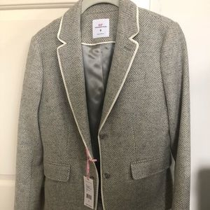 Vineyard Vines Jackets & Coats - NWT 🌟 Vineyard Vines Gray Herringbone Blazer